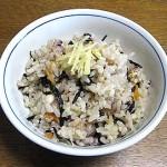 雑穀ひじきご飯