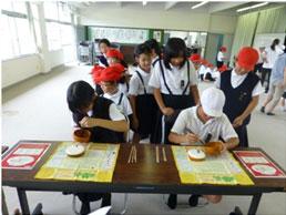 食育イベント(庵治小学校)①