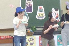多度津町立四箇幼稚園を訪問1