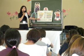 多度津町立四箇幼稚園を訪問3